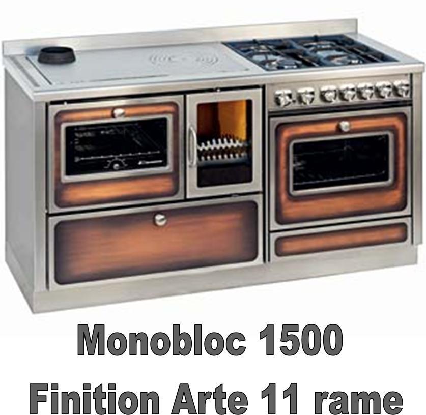 Monobloc 1500 - Réf. - CHAUFFAGE - Cuisinières à bois - Espace ...