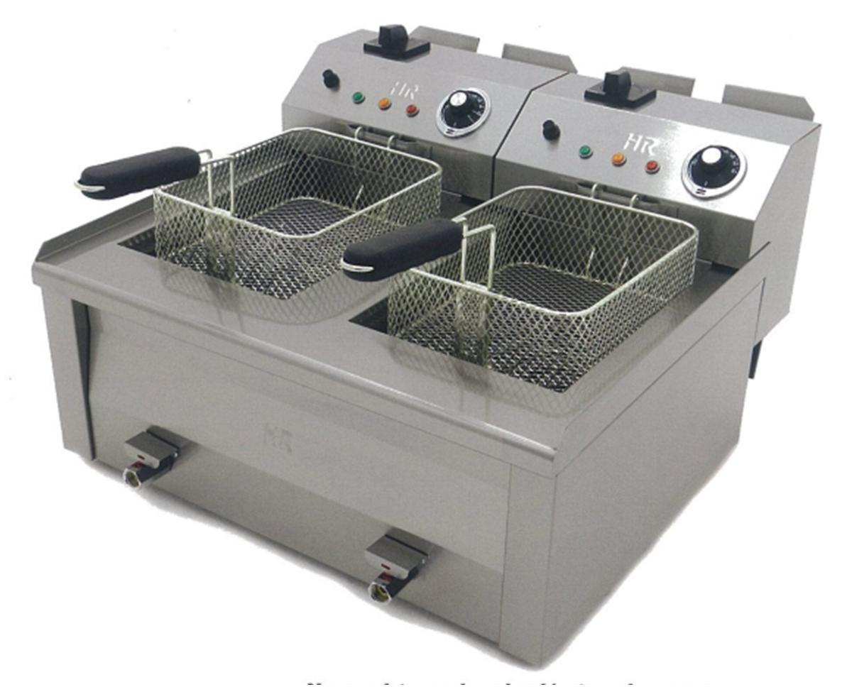 Friteuse fainca 2x8 litres haut rendement r f cuisine for Cuisine professionnelle prix