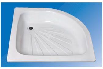 bac de douche 1 4 de cercle r f salle de bain. Black Bedroom Furniture Sets. Home Design Ideas